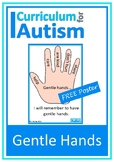 Positive Behavior Kindness Poster Autism Special Education
