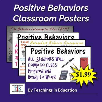 Positive Behavior (Poster Set)
