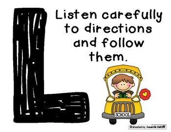 Positive Behavior Posters