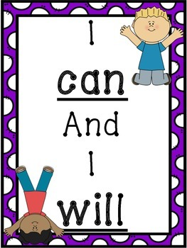 Positive Behavior Posters and Awards