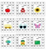 Positive Behavior Punch Cards