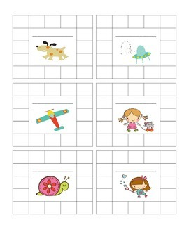 Positive Behavior Punch Cards - Boy and Girl Theme
