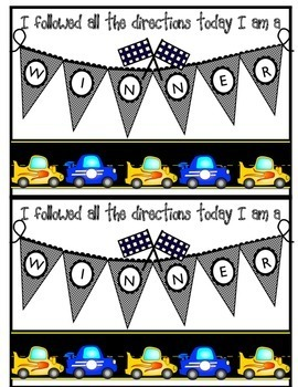 Behavior Management Themed Punch Cards {Primary Grades}