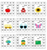 Positive Behavior Punch Cards