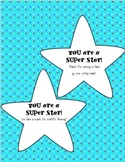 Positive Behavior Reinforcement: Classroom Super Stars