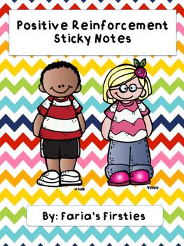Positive Behavior Reinforcement Sticky Notes