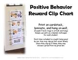 Positive Behavior Reward Clip Chart