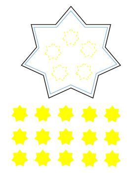 Positive Behavior Reward Star Lanyard Necklace