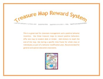 Positive Behavior Reward System:  Treasure Map