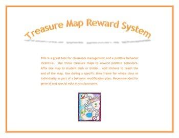 Positive Behavior Reward System:  Treasure Map