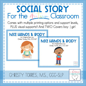 Positive Behavior Social Story Set for Children with Autism or Special Needs