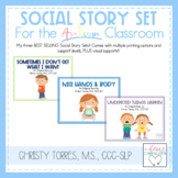 Positive Behavior Social Story Set for Children with Autis