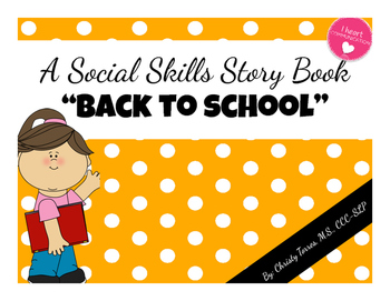 Positive Behavior Social Story for Children with Autism -