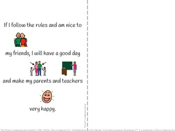 Positive Behavior Social Story for Children with Autism - Lining Up