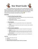 Positive Behavior Star Chart (Star Sheet)