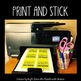 Positive Behavior Sticky Notes for Students- Classroom Management