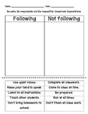 Positive Behavior Support-Cut and Paste
