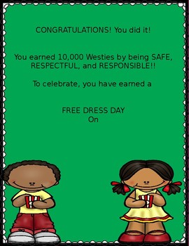 positive behavior support reward flyer by stephanie codorniz tpt
