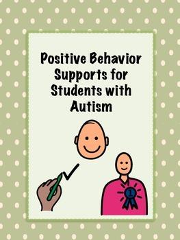 Positive Behavior Support Strategies Autism