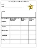 Positive Behavior Tally Sheet
