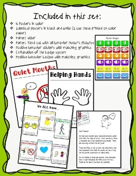 Classroom Rules and Expectations Kindergarten First Second