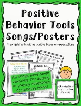 Positive Behavior Tools- Behavior Management Songs
