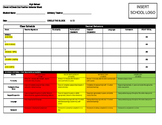 Behavior Tracker (Tier II Students) in Secondary School