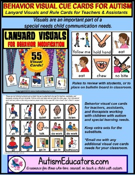 Positive Behavior Visual Cards for Supporting Students with Autism