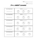 Positive Behavior Visual Chart