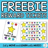 "Positive Behavior Wrist Bands and Brag Tags ""I'm a Super Star"""