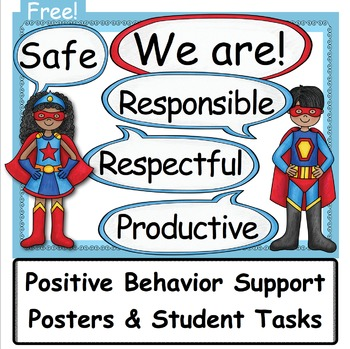 Positive Behavioral Supports: Community Posters & Tasks