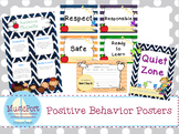 Positive Behaviors Posters bundle