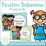 Positive Behavior Postcards - Behaviour Management
