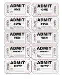 Positive Behaviour Tickets