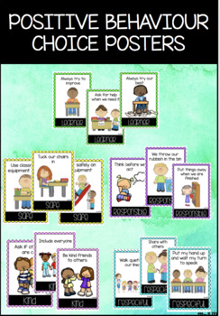 Positive Behaviours Display and Taboo Game