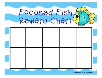 Positive Behavior Chart (Fish/Ocean theme)