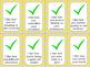 Positive Reinforcement Cards Checkmarks- 32 I Like statements