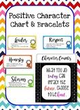 Positive Character Chart & Bracelets
