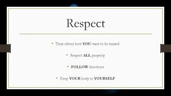 Positive Character Trait Chart