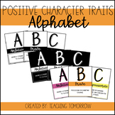 Positive Character Traits Alphabet Posters