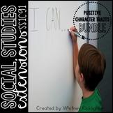 Positive Character Traits Bundle (Social Studies Extensions)