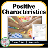 Positive Characteristics/Attributes of Friends Activity!
