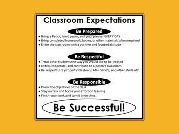 Positive Class Expectations Agreement