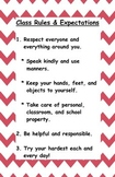 Positive Class Rules and Expectations