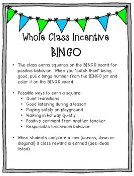 Positive Classroom Behavior