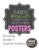 Positive Classroom Environment Posters *Growing Product
