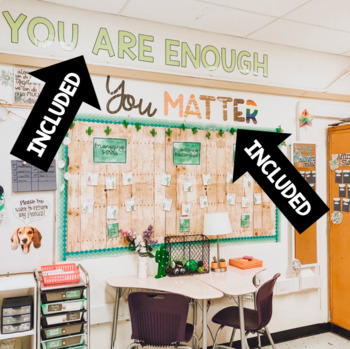 Positive Classroom Jumbo Letter Quotes