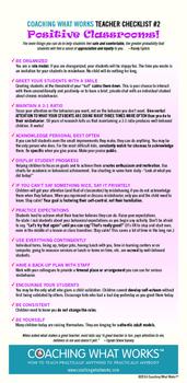 Positive Classroom Management!