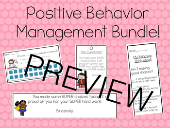 Positive Classroom Management Bundle