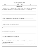 Positive Classroom Management Cards and Reflection Sheet